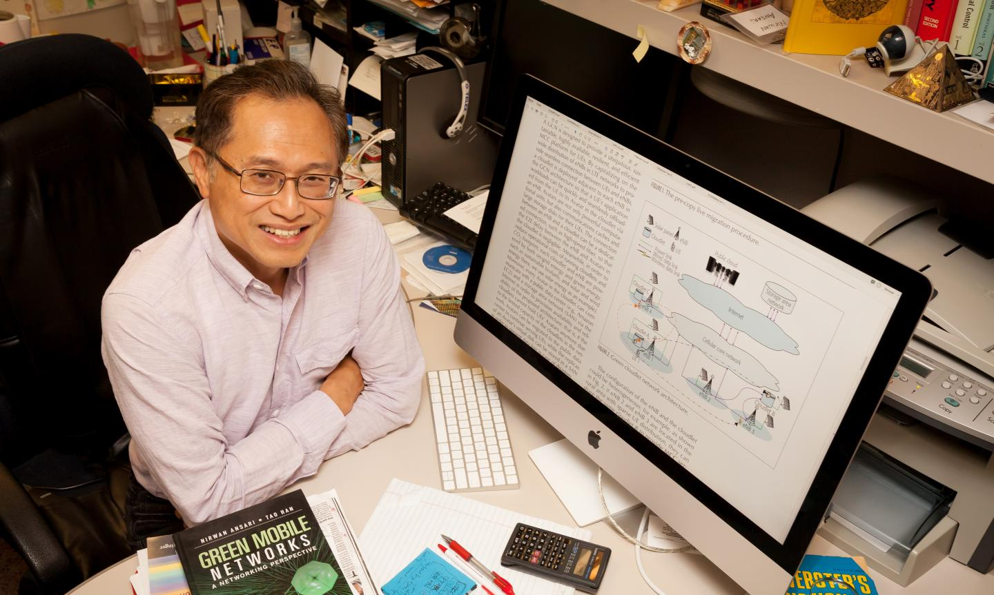 Communication Networks Pioneer Nirwan Ansari is Named a Fellow of the National Academy of Inventors