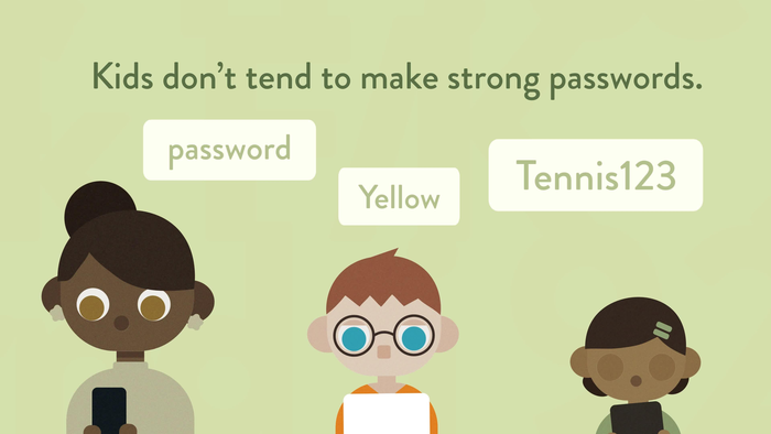 How Good Are Kids at Making Passwords?