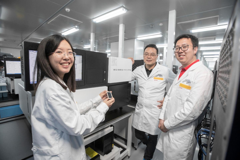 BGI-Shenzhen researchers 2