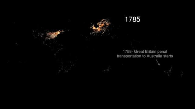 500 Years of Western Migration