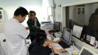 Tanya Turan, Medical University of South Carolina and Her Team at the Scanner