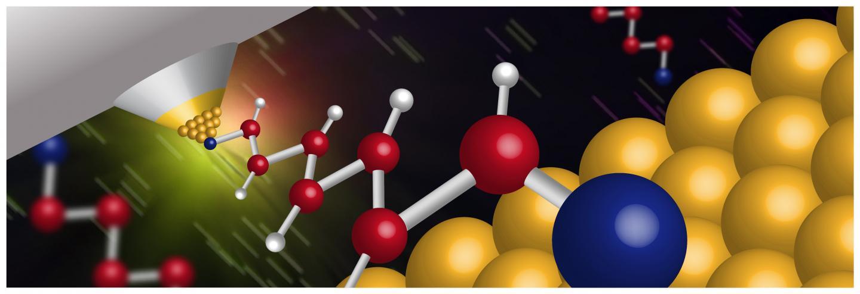 Heat Flow through Single Molecules Detected