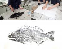 The Art of Creating 'Gyotaku'