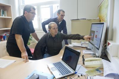 Joseba Makazaga, Ander Murua, and Mikel Antonana, University of the Basque Country