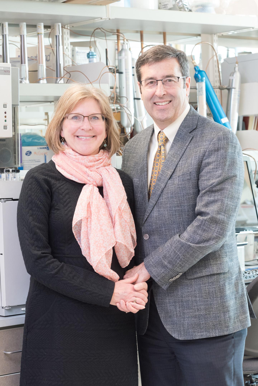 Shelley and Mark McGuire of the University of Idaho