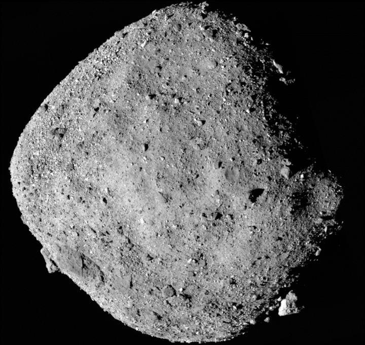 Asteroid Bennu Mosaic