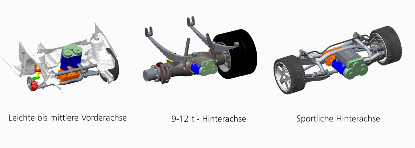 Scalable Electric Drive for Buses, Trucks