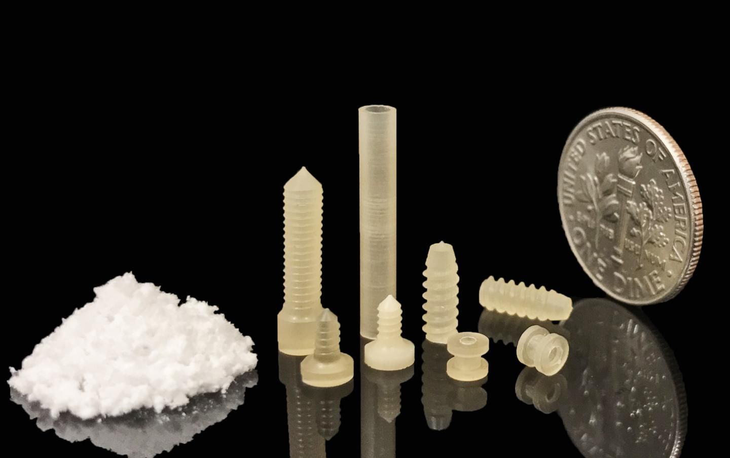 Products Molded from Silk for Biomedical Use