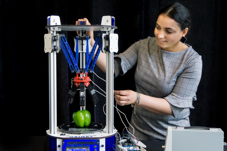 Innovative Robot Fingers Hold Promise for Assistive Living, Prosthetics