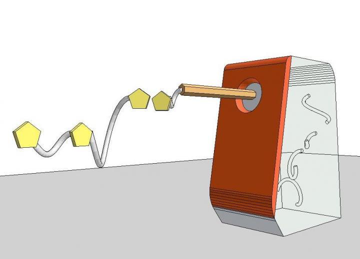 Molecular Pencil Sharpener