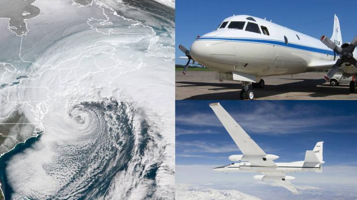NASA Snow-Chasers Set to Fly Into East Coast Winter Storms