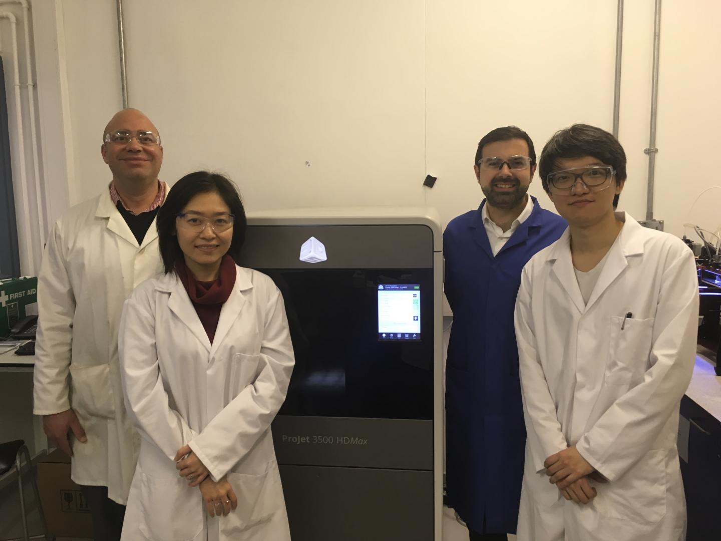 Dr Darrell Patterson and team, University of Bath