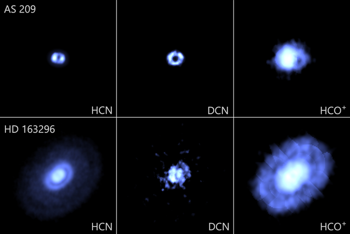 ALMA images of the protoplanetary disks