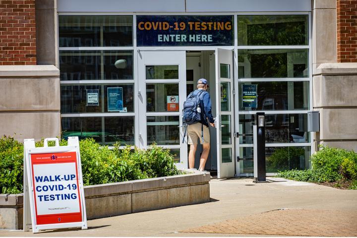 COVID-19 testing location