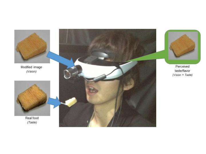 Crossmodal effect of visual information to taste/flavor perception