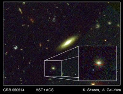 Hybrid Gamma-Ray Burst