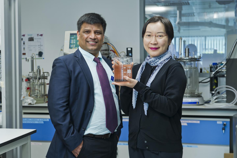 Dr. Carol Lin and Dr. Srinivas Mettu, City University of Hong Kong
