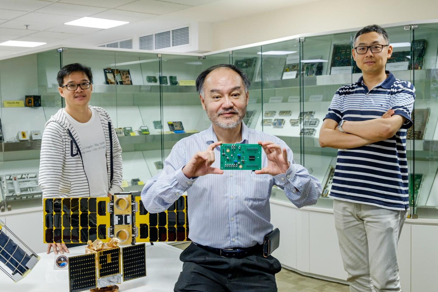 Co-Founders of Zero Error Systems with Their New Smart Chip
