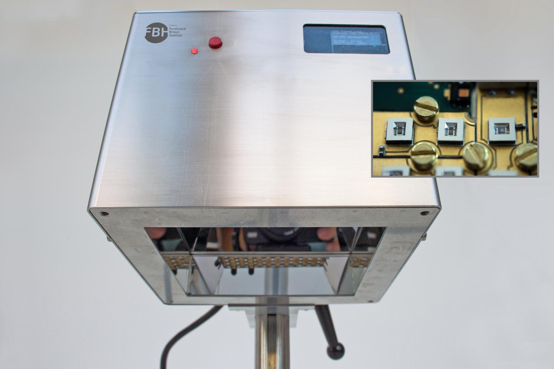 Prototype of the UVC LED Irradiation System