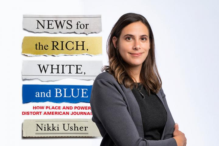 Author Nikki Usher and her new book