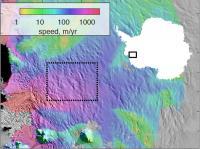 Thwaites Glacier Speed