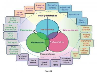 Interdisciplinary Nature of Piezotronics/Piezo-Phototronics Research and Their Application Prospects