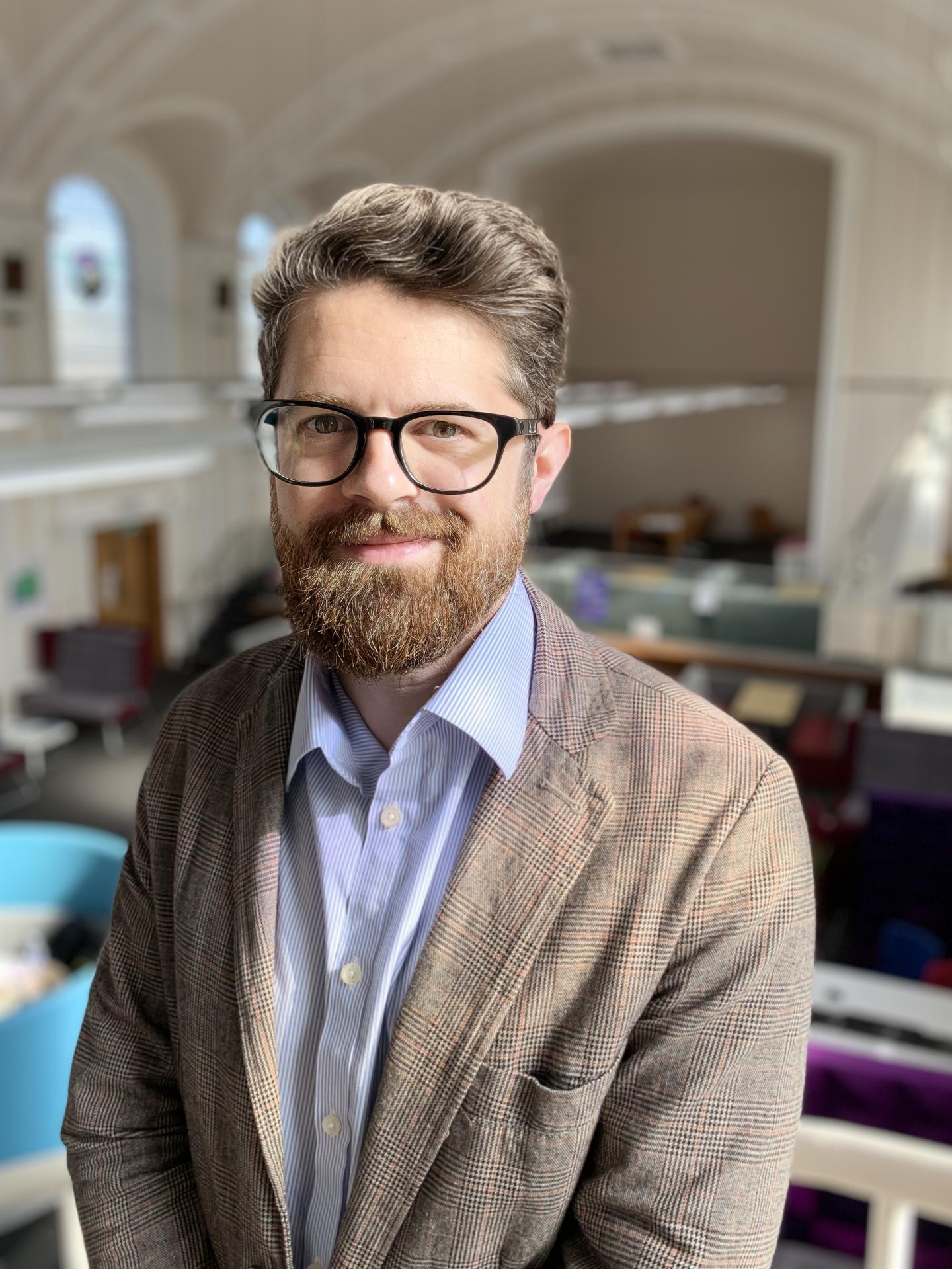 Ben Vincent, University of Dundee