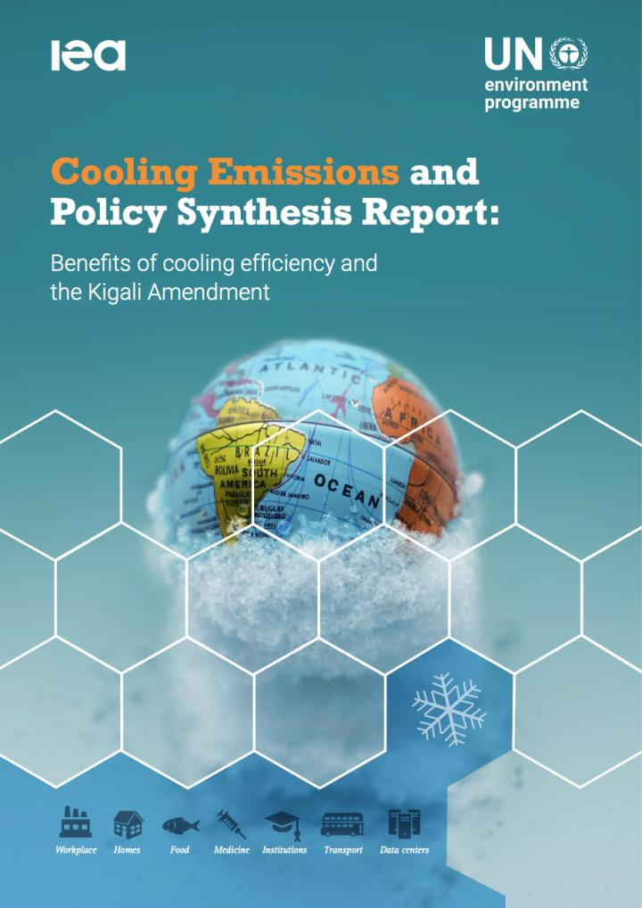 Cover of the UNEP / IEA Cooling Report