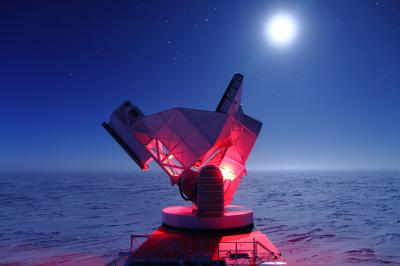 Breakthrough from South Pole Telescope