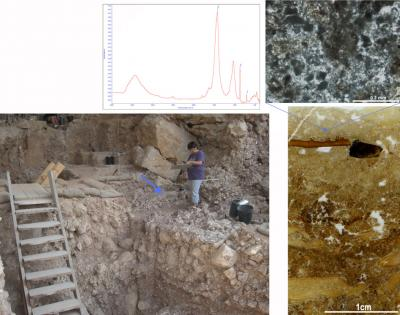 300,000-Year-Old Hearth Found (1 of 2)