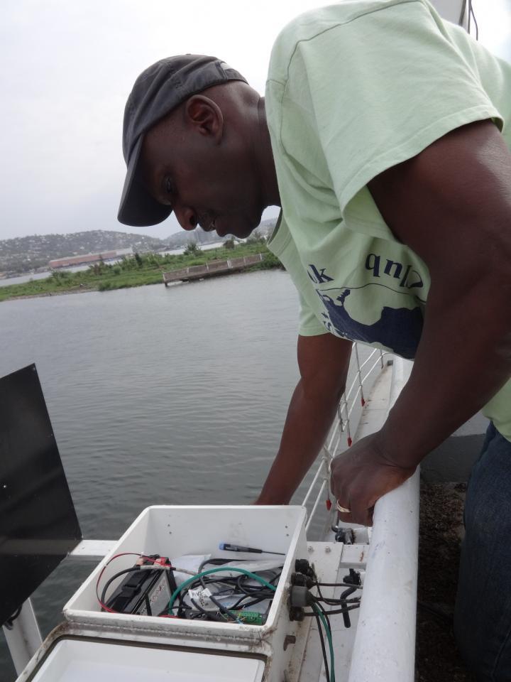 SoMAS Professor at Lake Victoria