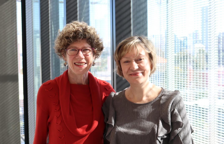Professor Jacqueline Center and Dr Dana Bliuc