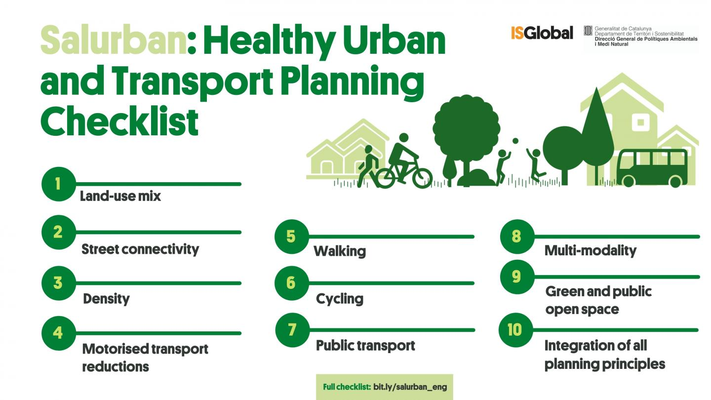 10 Keys for Healthy and Sustainable Urban Planning