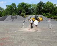 Cleaning the Fossil Forest Surface
