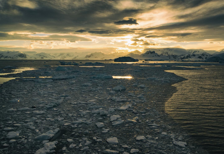 Along the West Antarctic Peninsula