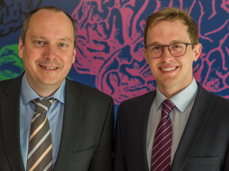 Prof. Dr. Bernd Weber and Alexander Niklas Häusler