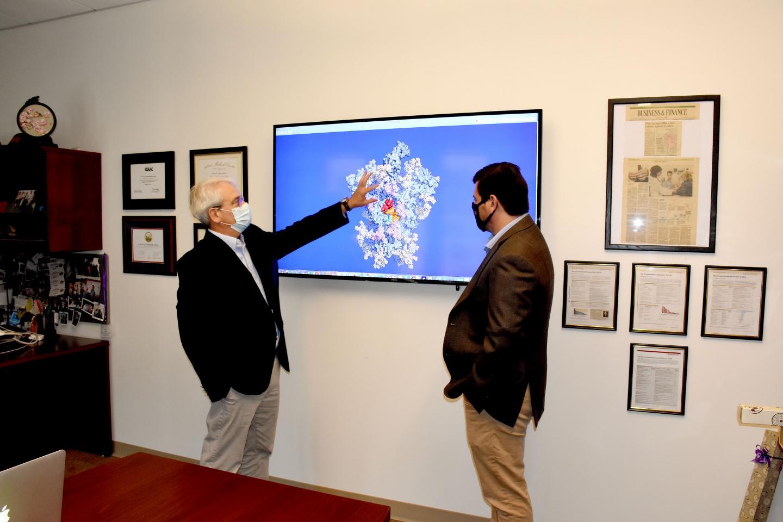 Wistar scientists Drs. David Weiner & Dan Kulp