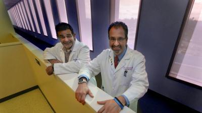Dr. Josѐ A. Vazquez and Dr. Scott S. De Rossi, Georgia Regents University