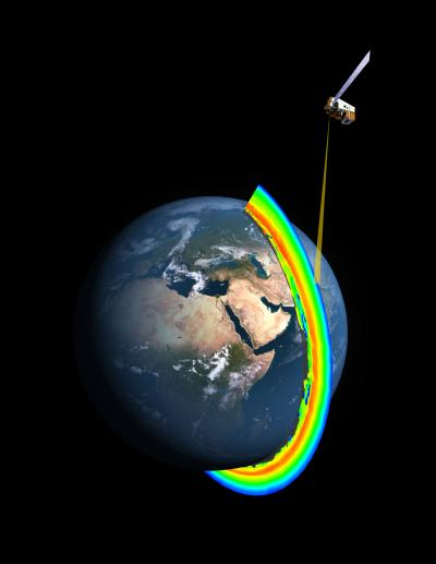 Cross-Section of Earth's Ozone Layer