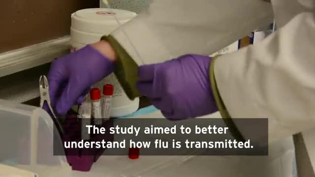 Flu May be Spread by Breathing