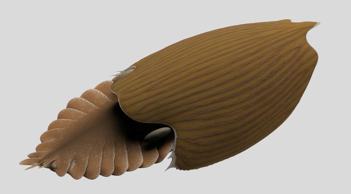 Titanokorys gainesi reconstruction