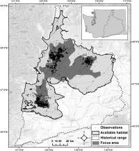 Washington Habitat Map