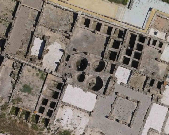 Ruins of Roman Fish Processing Factory