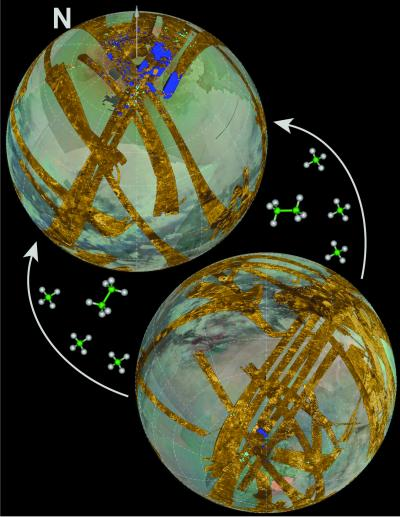 Lake Asymmetry on Titan