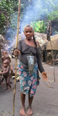 Mendjele BaYaka Woman