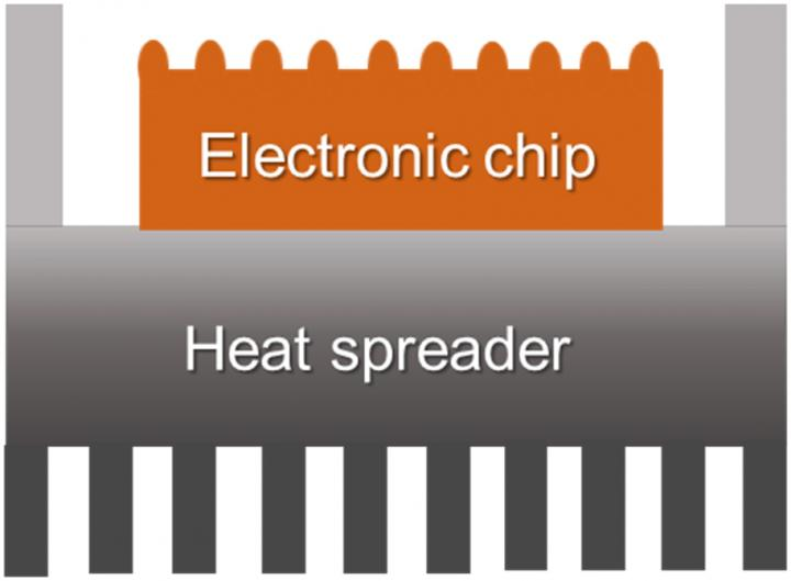 Schematic for microchip packaging