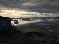 Melting Ice Off Greenland (2 of 2)