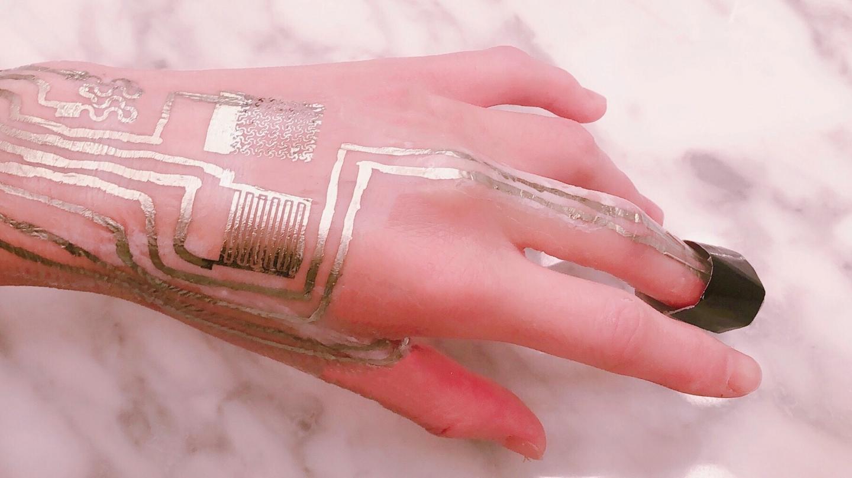 Wearable Circuits Printed Directly On Human Skin