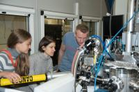 During the Experiments at the ESRF