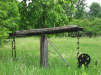 Late 1800S Oil Well Pump Jack